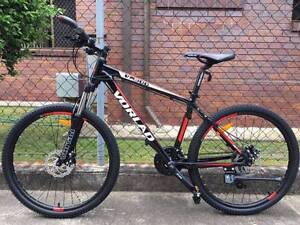 Sell new high quality black VORLAD MTB/SHIMANO24sp/diskbrakes Springfield Lakes Ipswich City Preview