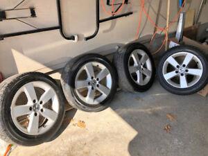Jantes Honda plus pneus d'été / Honda Mags plus summer tires