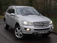 2007 57 Mercedes-Benz ML280 3.0TD CDI auto Sport..HIGH SPEC!!..F.S.H..STUNNING!!