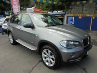 2007 57 BMW X5 3.0D SE AUTO 5S IN SPACE GREY # FULL BLACK LEATHER INTERIOR #