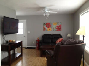 Furnished 2 bedroom Executive suite in Dawson Creek