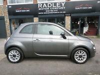 2014 Fiat 500 1.2 ( 69bhp ) ( s/s ) LOUNGE 3DR 64 REG Petrol Grey