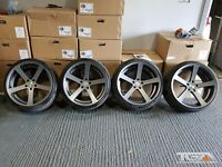 "19"" Cades Apollo Alloy Wheels & Tyres for an VW, Audi, Seat ETC 5x112"