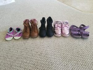 Assorted shoes size 7 toddler