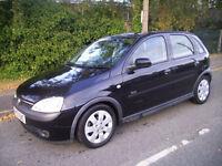 2003 (03 reg) Vauxhall Corsa 1.2 i 16v SXi 5dr