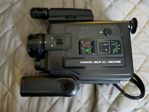 Vintage Chinon 20P XL/Direct Sound (Super 8) Recorder