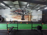 Seeking mural painter for athletic facility in Vaughan