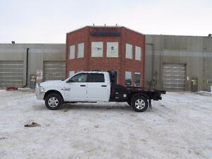 2013 Dodge Power Ram 3500 Pickup Truck / CBI Hydra-dec bale deck