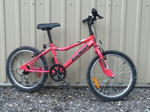 Girls 20 inch 5 speed bike