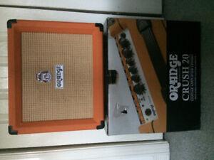 Crush 20 guitar amp