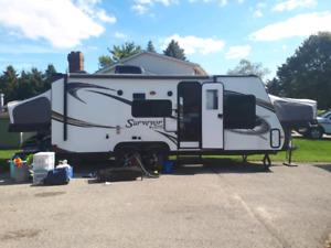 2012 Surveyor 224T hybrid trailer