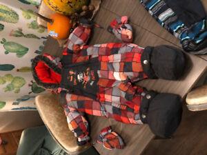 2 Manteaux un d'automne et un d'hiver 12 mois