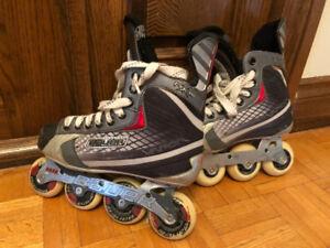 Patins à roues alignées pour hockey BAUER Vapor