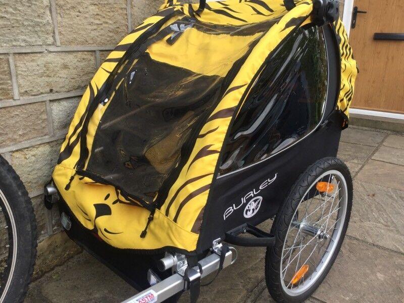 burley d lite st child bike trailer special edition in. Black Bedroom Furniture Sets. Home Design Ideas