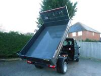 Ford Transit 350 L2 Mwb Bison Tipper - Rare Black Tipper with 170ps Euro 6