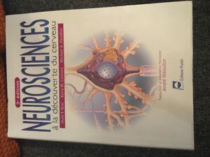 NEUROSCIENCES à la découverte du cerveau 3e édition, 90$
