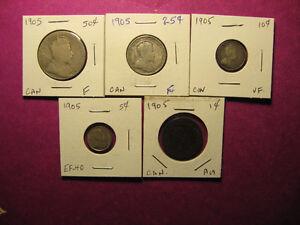 1920 Canada coin set