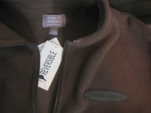 new with tags men's fleece pj pants and Roots sweater Cambridge Kitchener Area image 2