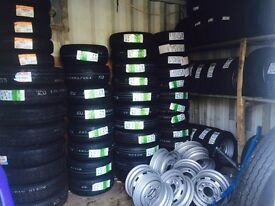 Ifor Williams trailer wheels tyres