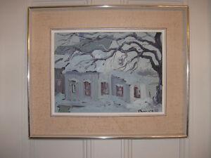 Peinture de Normand Boisvert