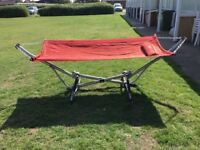 Metal hammock