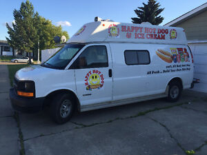 Selling my food truck / hot dog and icecream van. Price reduced