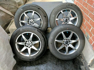 195/65R15 Continental  Summer Tires & Mags