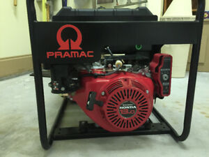 Pramac S7500W Commercial Generator with Honda Motor- Brand New