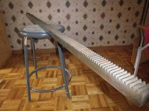 Outils de machiniste barre acier