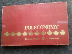 Poleconomy - A Canadian Game Complete and in great condition