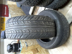 Pair Of 225/45R17 Uniroyal TigerPaw All Seasons Forsale