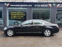 2006 Mercedes-Benz S Class 5.5 S500 7G-Tronic 4dr Petrol black Automatic
