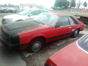 1981 Ford Mustang ...Parting out or rolling chassis for sale