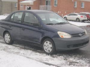 2005 Toyota Echo 5 Vitesses, Aucune Reparation a Faire