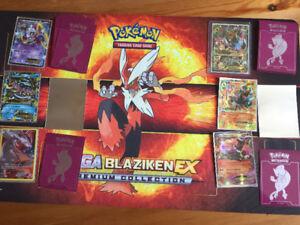 Cartes Pokémon ultra rare plus tapis