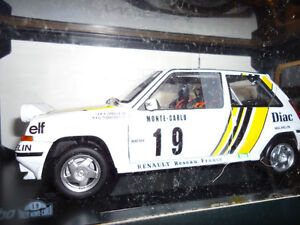 1/18 DIECAST NOREV RENAULT 5 GT TURBO RALLY NEW IN BOX RARE