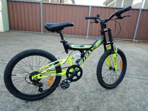 7 speed 20inch BMX suspension bike