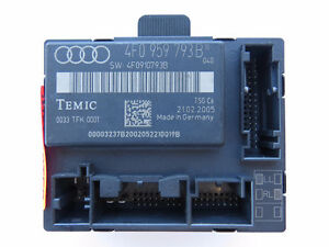Audi A6 05-06 Power Window Control Module Front Left 4F0959793B