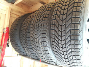 **Chevy Winter Truck Tires & Rims 265 70 17