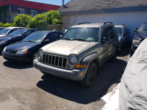 Jeep Liberty Trail Rated 2007 4x4 124km