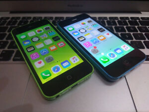 Factory unlock iphone 5c 16gb Selling for 140 each If u are inte
