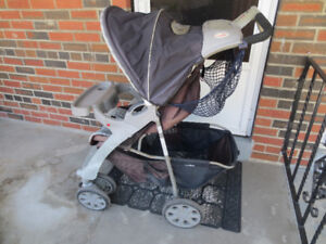 Graco Evenflo stroller AND infant car seat