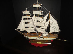 Vintage Wooden Ship--Gorch Fock German Tall Ship