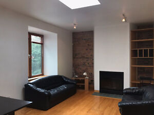 Beauty 2-bed units in heart of McGill Ghetto (4-8 mo. sublease)
