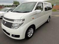 2002 Nissan Elgrand 3500 X EDITION FRESH HIGH GRADE IMPORT 5dr