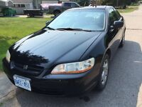 2000 Honda Accord Coupe Low KM Cert + E-Test Leather Sunroof