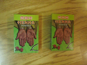 2 Brand New Boxes of Henna - $5 each for both for $8