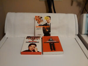 Arrested Developent DVD Box Sets - Season 1 and 2 and 3