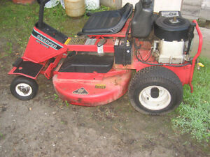 TRADE OLDER DEPENDABLE RIDING MOWER FOR BOAT