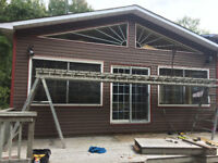 Roofing and siding repairs and installation
